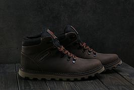 Мужские зимние ботинки из натуральной кожи в стиле Columbia