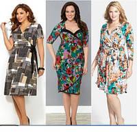 Женские трикотажные халаты и платья с 42 по 68 размер оптом и в розницу не дорого