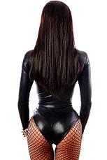 Женское боди на шнуровке Латекс, фото 2