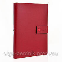 """Ежедневник А5 недат. """"Magnat"""", 320 стр., красный, 251893"""