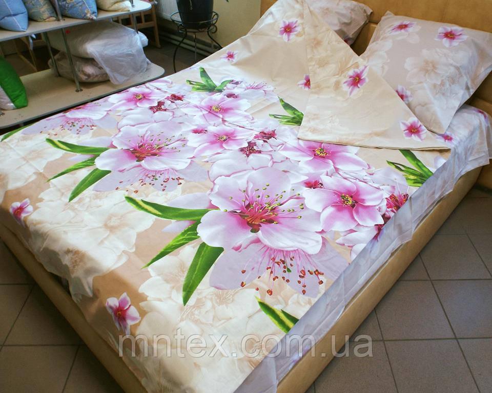 Комплект постельного белья бязь Голд Цветущий сад