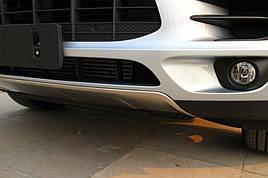 Передняя и задняя накладки (2 шт) - Porsche Macan 2014+ гг.