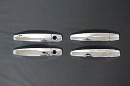 Накладки на ручки (4 шт) - Opel Astra H 2004-2013 рр ..