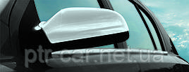 Накладки на дзеркала (2 шт) - Opel Astra H 2004-2013 рр ..