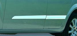 Молдинг дверний (4 шт, нерж) - Opel Astra H 2004-2013 рр ..