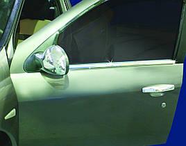 Зовнішня окантовка вікон (4 шт., нерж.) - Renault Clio і Symbol 2009-2012 рр.
