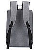 Рюкзак городской Package для ноутбука серый, фото 2