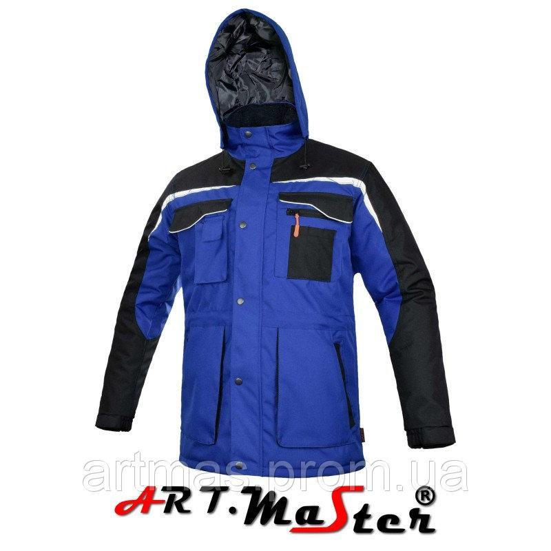 Куртка защитная зимняя ARTMAS синего цвета EXPERT WIN- kurtka ochronna - niebieska