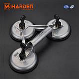 Профессиональный стеклосъемник тройной алюминиевый усиленный Harden Tools 620607 , фото 2