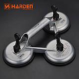 Профессиональный стеклосъемник тройной алюминиевый усиленный Harden Tools 620607 , фото 3