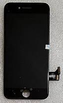 Модуль (сенсор + дисплей) для Apple Iphone 8 чорний, фото 3