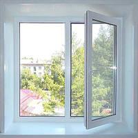 Металлопластиковое кухонное окно