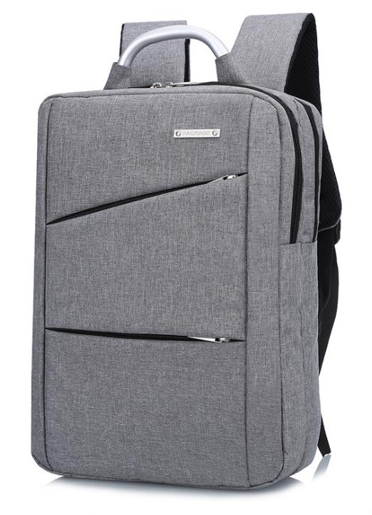 Рюкзак городской Package для ноутбука серый