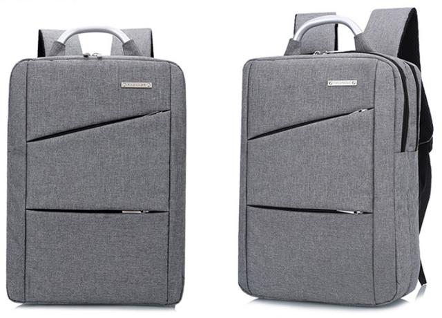 2c9303eabffb Рюкзак городской Package для ноутбука серый, цена 679 грн., купить в ...