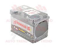 Аккумулятор 74Ah 12V EN760 Premium R+ ( пр-во A-MEGA) по предоплате