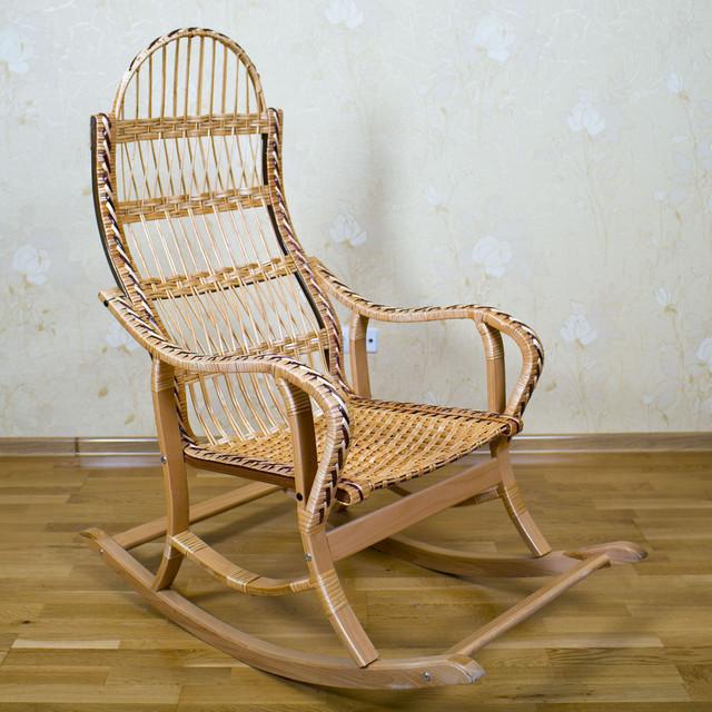 Кресла-качалки из лозы
