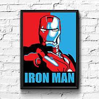 Постер с рамкой Железный Человек
