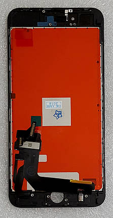 Модуль (сенсор + дисплей LCD) для Apple Iphone 8 Plus чорний, фото 2