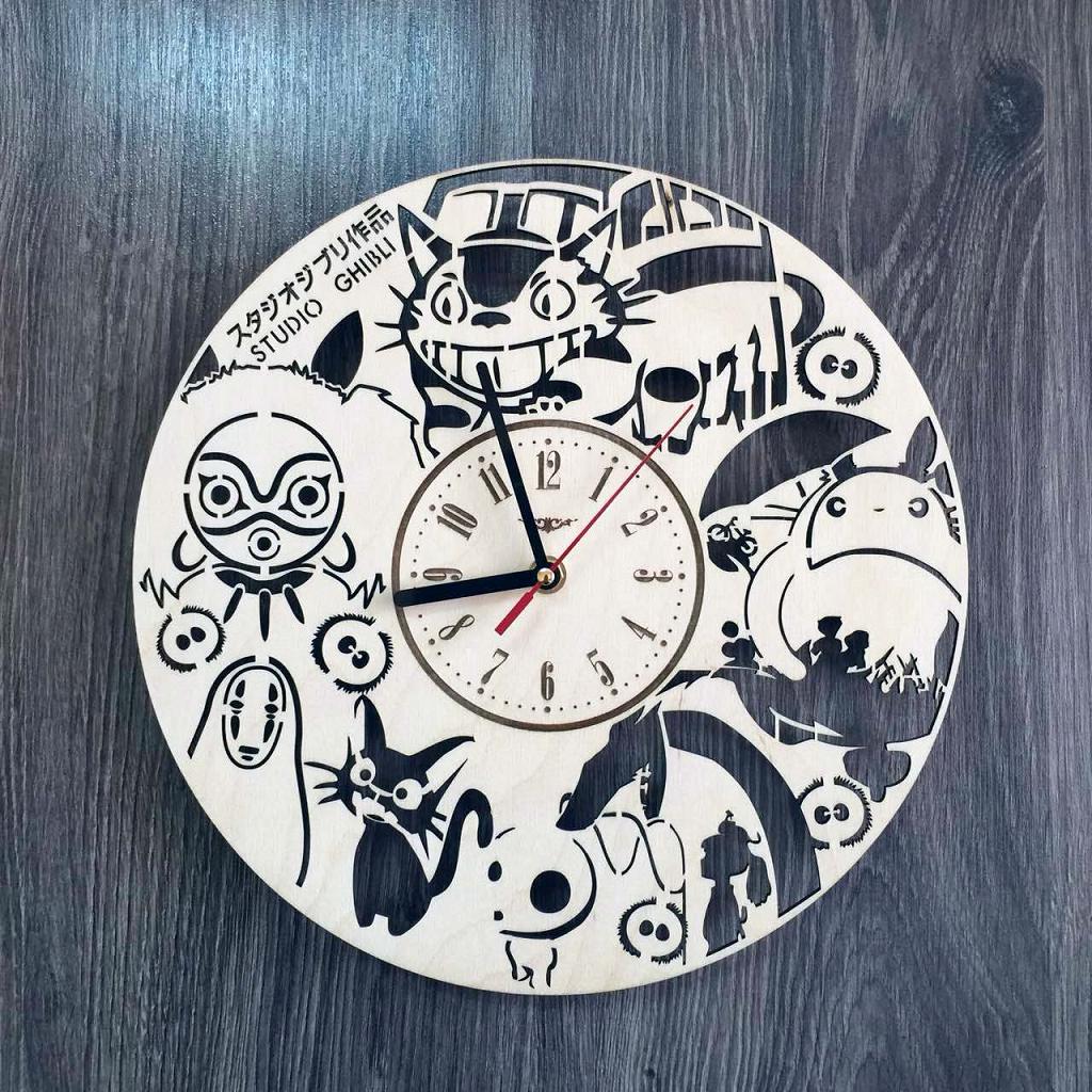 """Годинник настінний """"Studio Ghibli"""" CL-0226"""