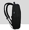 Рюкзак городской HF для ноутбука черный, фото 3