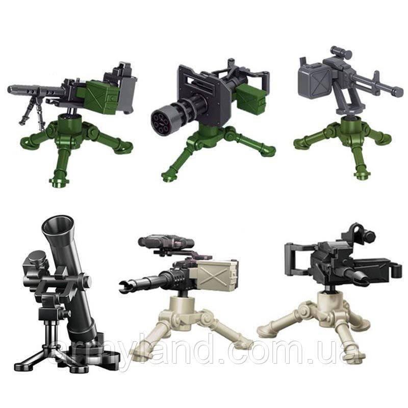 Военный конструктор, Крупнокалиберное оружие, аналог лего, BrickArms