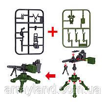 Военный конструктор, Крупнокалиберное оружие, аналог лего, BrickArms, фото 2