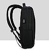 Рюкзак городской HF коричневый, фото 3