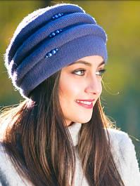 Объемные вязаные шапки для женщин Каприз