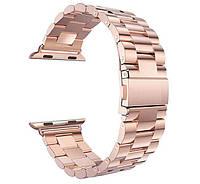 Металлический ремешок Primo Steel для часов Apple Watch 38mm / 40mm - Rose Gold