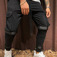 Мужские штаны с липучками