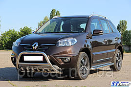 Кенгурятник WT003 (нерж.) - Renault Koleos 2008-2016 рр ..