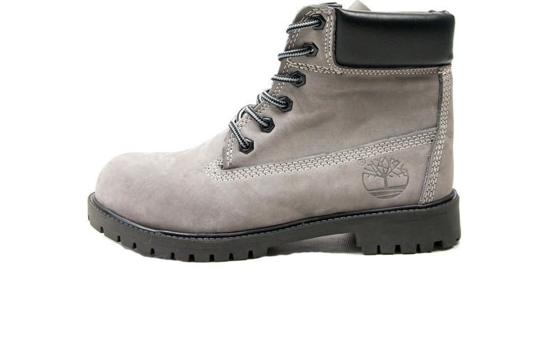 Мужские ботинки Timberland Yellow Fur Gray (Натуральный мех) d0a1c911b5716