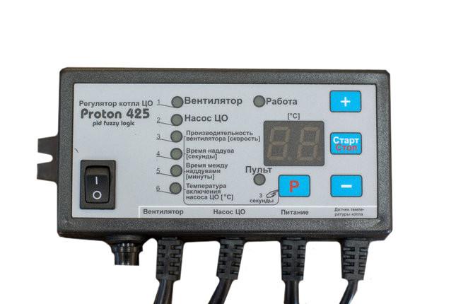 Автоматика для твердопаливних котлів Prond Proton 425 PID