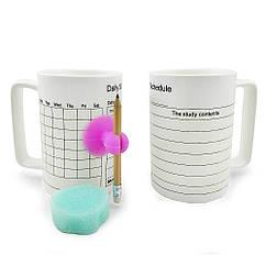 Кружка Органайзер, 4 вида ( memo mug )