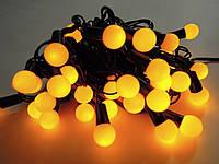 Светодиодная гирлянда Шарики внутренняя 36 led желтый цвет, фото 1
