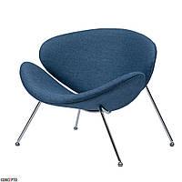 Foster (Фостер) кресло лаунж текстиль синий океан, фото 1