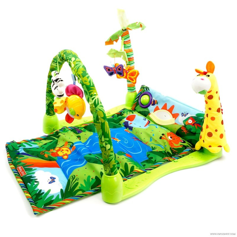 Коврик Baby Gift 3059 Тропический лес