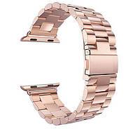 Металлический ремешок Primo Steel для часов Apple Watch 42mm / 44mm - Rose Gold