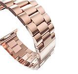 Металевий ремінець Primo Steel годин Apple Watch 42mm / 44mm - Rose Gold, фото 3