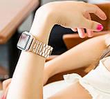 Металевий ремінець Primo Steel годин Apple Watch 42mm / 44mm - Rose Gold, фото 4