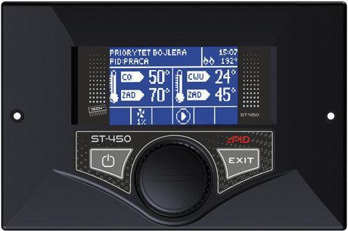 Автоматика для твердотопливных котлов Tech ST-480 zPID