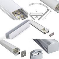 Профіль алюмінієвий для led стрічки
