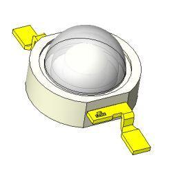 Світлодіод PM2B-3LDE-SD синій royal для полімеризації 455нм, світлодіод дентал для стоматології 7254