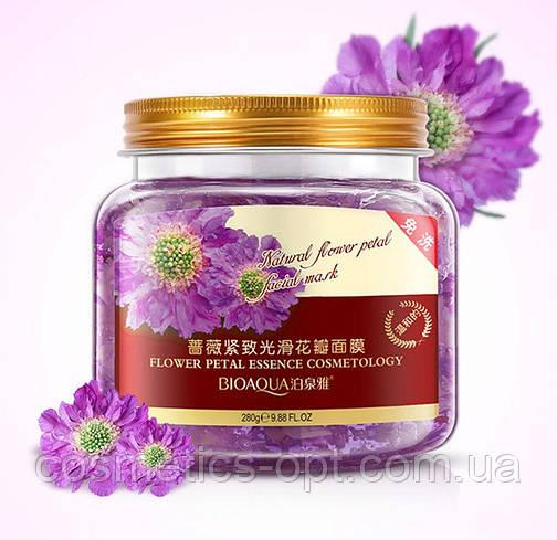 Несмываемая ночная маска BIOAQUA Natural Flower Petal Facial Sleep Mask с экстрактом лепестков хризантемы