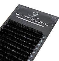 """Ресницы """"DLUX Professional"""" PREMIUM SILK LASH (миксы) С,Д изгиб, толщина 0.05,0.07,0.10 и 0.15"""