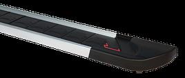 Боковые площадки RedLine V1 (2 шт., алюминий) - Peugeot 4007