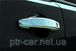 Накладки на ручки (4 шт) - Opel Meriva 2010+ гг.
