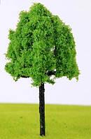 Дерево 10 см для диорам, миниатюр, детского творчества