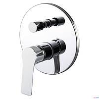 Смеситель для ванны НЧ+СЧ Imprese Kucera VR-31105