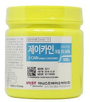 Анестетик J-CAIN Анестезирующий обезболивающий крем с лидокаином 10,56% Корея, 500gr